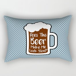 Beer Stout Rectangular Pillow