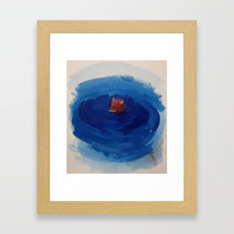 Swim, Swim Framed Art Print
