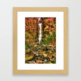 Erskin Falls, VIC Framed Art Print