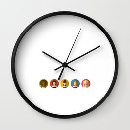 SPICE GIRLS ICONS Wall Clock
