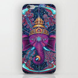 Eye of Ganesh iPhone Skin
