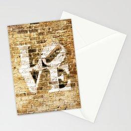 LOVE: BRICK II Stationery Cards