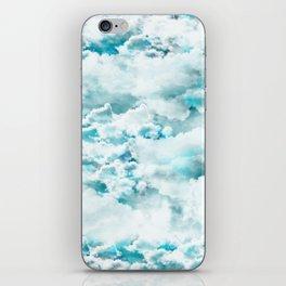 Clouds in the sky iPhone Skin