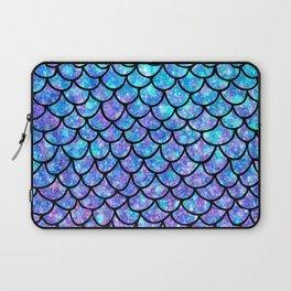 Purples & Blues Mermaid scales Laptop Sleeve