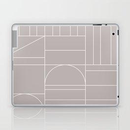Deco Geometric 04 Grey Laptop & iPad Skin