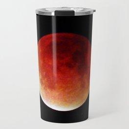 Super Moon Eclipse 2015 (Blood Moon) Travel Mug