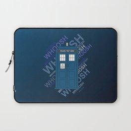 Tardis Whoosh sound Doctor Who Laptop Sleeve