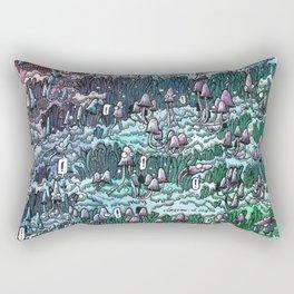Little mushrooms –color Rectangular Pillow