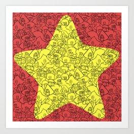 Steven's Star Art Print