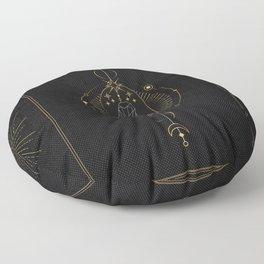 Tarot geometric #2: Owl Floor Pillow