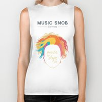paramore Biker Tanks featuring Music to DYE for — Music Snob Tip #075 by Elizabeth Owens
