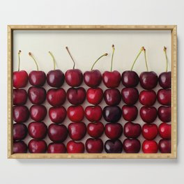 Cherry cherry quite contrary Serving Tray