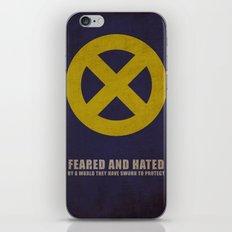 X-Men (Super Minimalist series) iPhone & iPod Skin