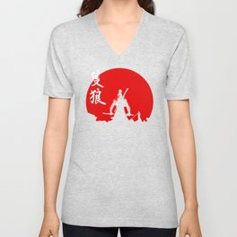 The One Armed Wolf Unisex V-Neck