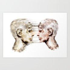 Love is all ! Art Print