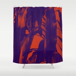 Exotic Duotone Shower Curtain