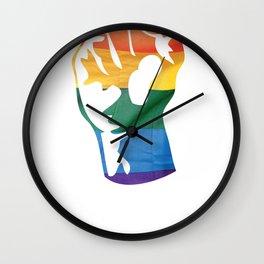 Fam Fist Wall Clock