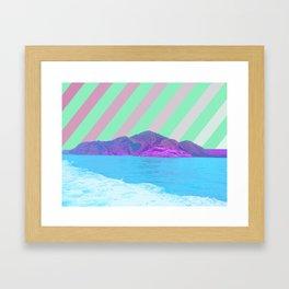 寂しい島 /// Lonely Island Framed Art Print