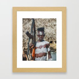 Karo Tribesboy Framed Art Print