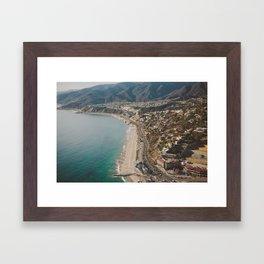 Above LA Framed Art Print