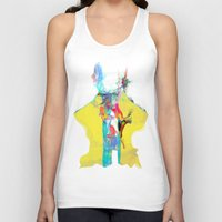 archan nair Tank Tops featuring Whispering by Archan Nair