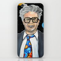 snl iPhone & iPod Skins featuring Will Ferrell as Harry Caray SNL by Portraits on the Periphery