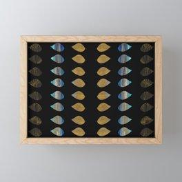Hojas Doradas Framed Mini Art Print