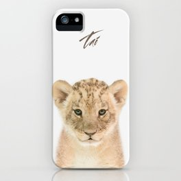 Baby Lion iPhone Case
