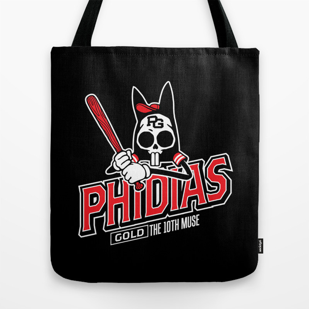 The Tenth Inning Tote Bag by Phidiasgold TBG953947