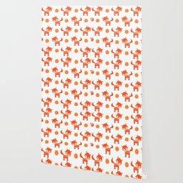 Orange Fox Wallpaper