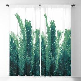 Tropical Leaves Dream #2 #tropical #decor #art #society6 Blackout Curtain