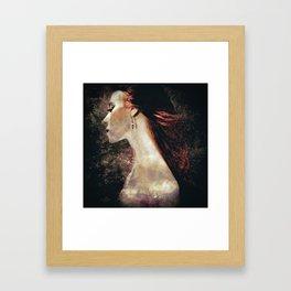 Caramel Framed Art Print