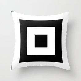 Black and White Leggings Nr.4 Throw Pillow