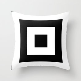 Black and White Leggings Nr.4 Throw Pillow