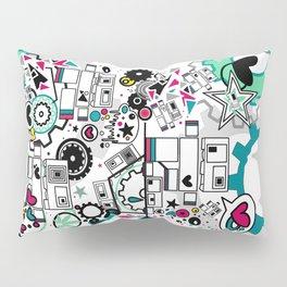 CUTE ROBOTS Pillow Sham