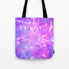Pink Galaxy Tote Bag