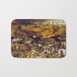 Bruegel the Elder The Triumph of Death Bath Mat