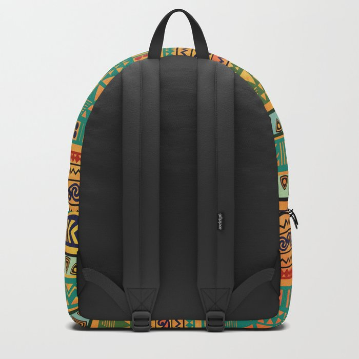Inspired Aztec Pattern 3 Backpack