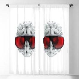 Keep a Cool Mind Blackout Curtain