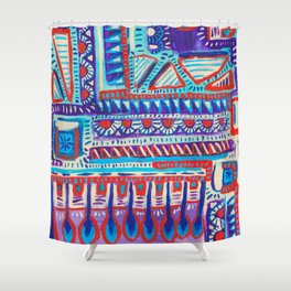 Rule of Threes Shower Curtain