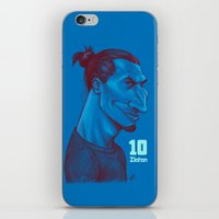 zlatan iPhone & iPod Skins featuring Zlatan 10 by SketcherOnline