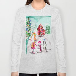 Snowgirl Long Sleeve T-shirt