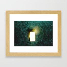 Hope Filters Through Framed Art Print