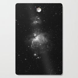 Galaxy (Black and White) Cutting Board