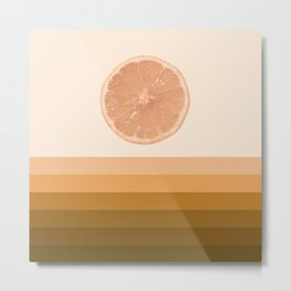 #01#Lemon landscape Metal Print