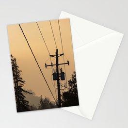 Yellow Mountain Haze Stationery Cards