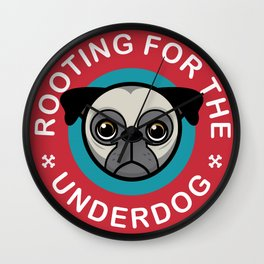 Rooting for the underdog Wall Clock