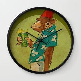 Bradbury The Ape Wall Clock