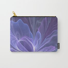 Abstract Art, Purple Fantasy Fractal Carry-All Pouch