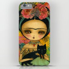 Frida And Her Cat iPhone 6 Plus Slim Case
